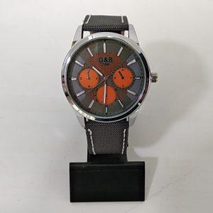 Reloj G&B caballero correa nata gris reloj. XaQueXulo