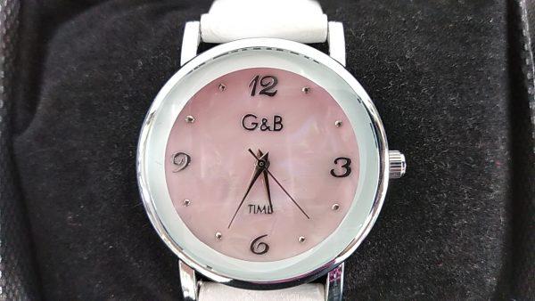 Reloj_R&B_rosa_señora_correa_sintetica_esfera_XaQueXulo