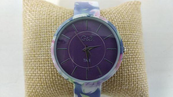 Reloj_G&B_brazalete_metalico_azul_esfera_XaQueXulo